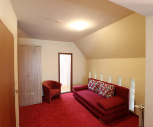 Deluxe Double Room with Bath, Fireplace